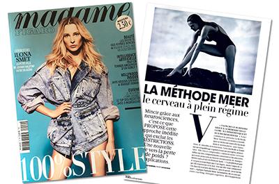 Consulter l'article sur la Méthode Meer dans le magazine Madame Figaro