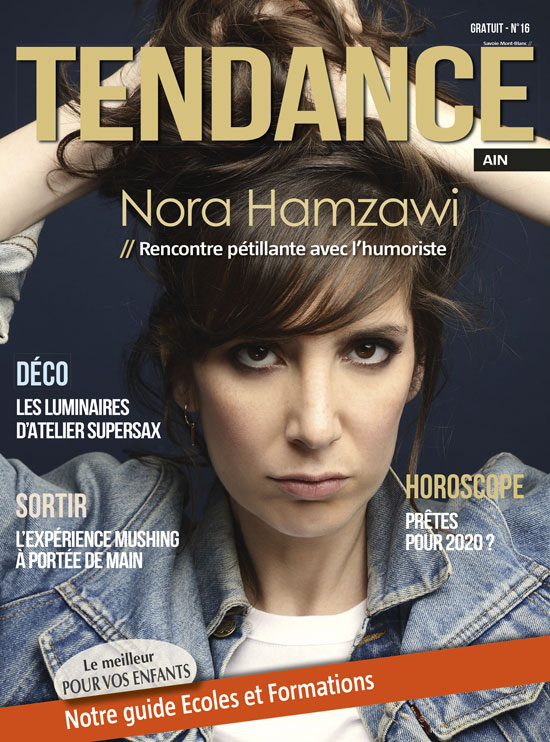 Consulter l'interview de Céline Gossin dans le magazine Tendance de Haute-Savoie