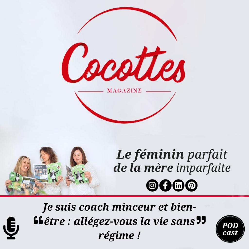 Ecoutez l'interview de Céline Gossin par Cocotte Magazine